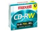 Maxell CD-RW74 XLII Music rewritable