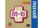 Maxell DVD+RW 4.7Gb data  120 min. rewritable  5-pack