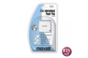 Maxell 7 in 1 international Power Plug
